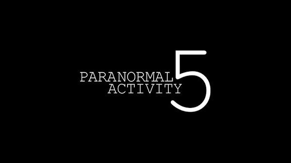 Paranormal Activity 5 Vizyon Tarihi