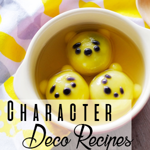 Character Deco Recipes