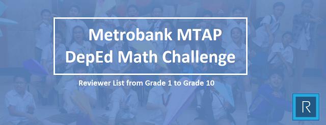 Metrobank MTAP DepEd Math Challenge