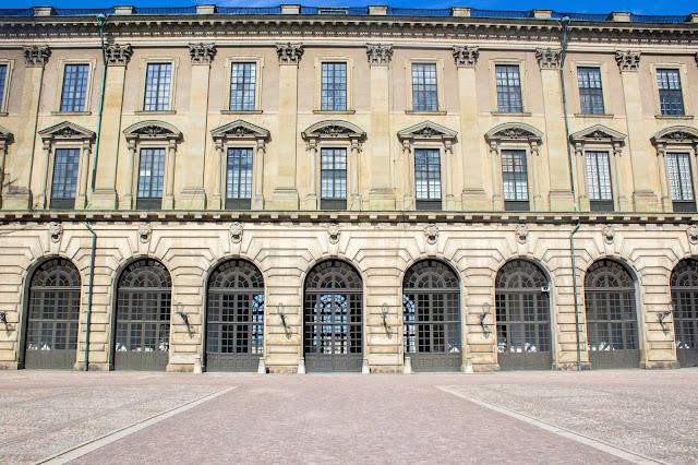 Palácio Real, no Gamla Stan, o centro histórico medieval de Estocolmo