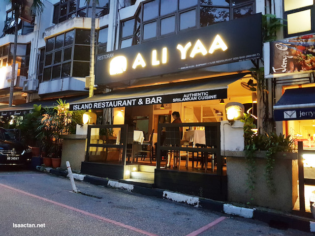 A Li Yaa Restaurant @ Bukit Damansara with The Entertainer
