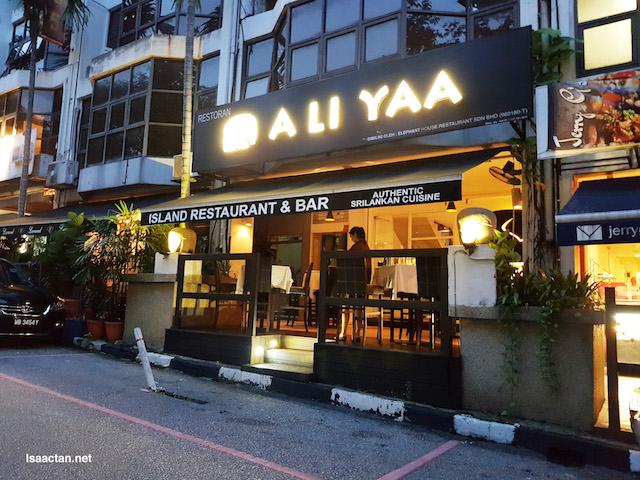A Li Yaa Restaurant @ Bukit Damansara with The Entertainer
