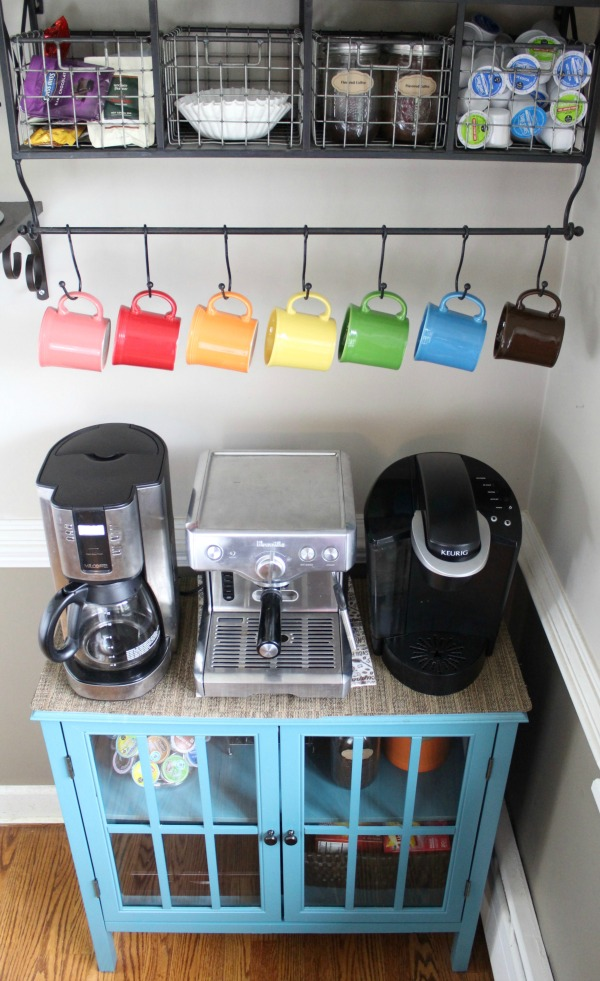 How to organize a DIY coffee bar