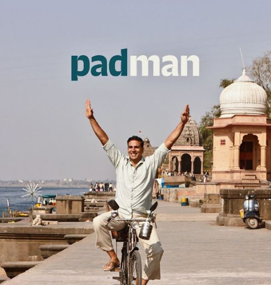 Padman Official First Look Poster: Akshay Kumar Enjoys Cycle Ride