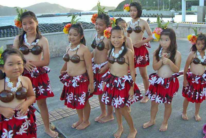 junior Hula Dancers