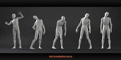 Zombies: The Wandering Dead Poses - download now...