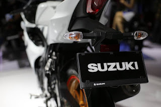 SUZUKI GSX-R bagian belakang
