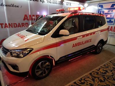 Mobil wuling versi Ambulance