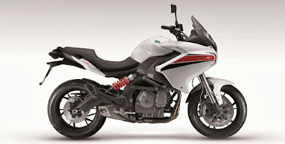 Benelli TNT 600 GT white color
