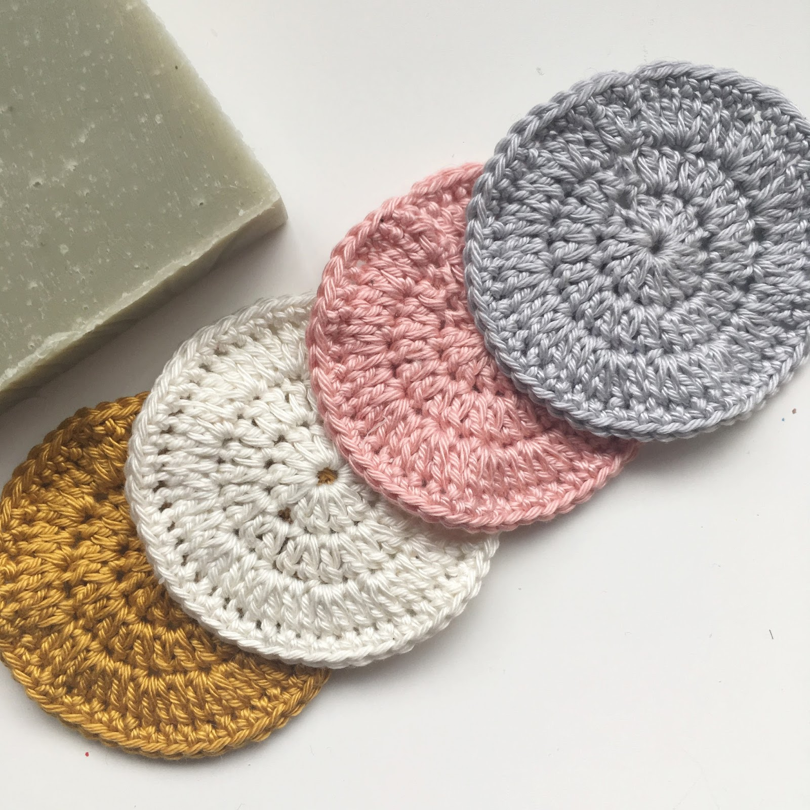 Quirky Boots: Crochet Face Scrubbies Pattern