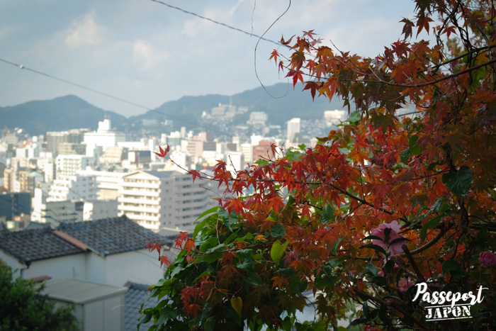 Vue sur Nagasaki, Teramachi