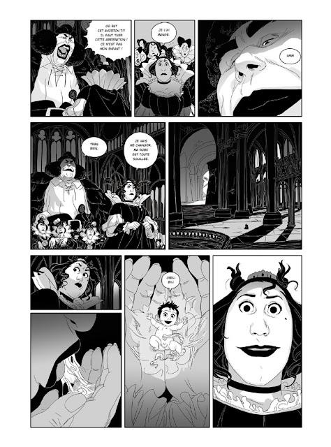 Les Ogres-Dieux (tome 1) Petit de Bertrand Gatignol et Hubert planche 1