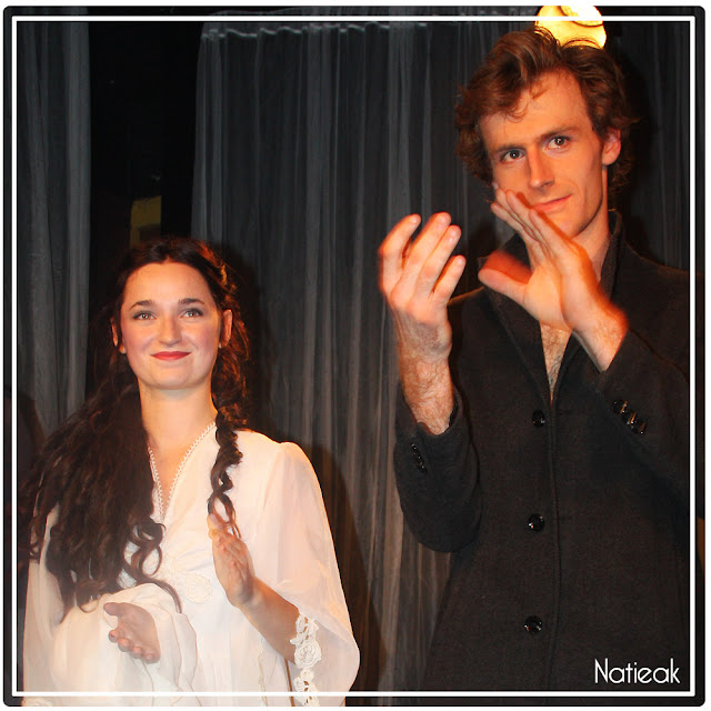 Charlotte Moineau et Julien Hammer dans Ludwig
