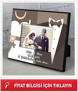 Evlilik Yıldönümüne Özel Fotoğraf Çerçevesi