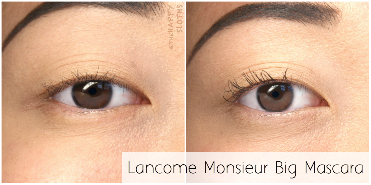 Lancome Monsieur Big Mascara: Review and Swatches