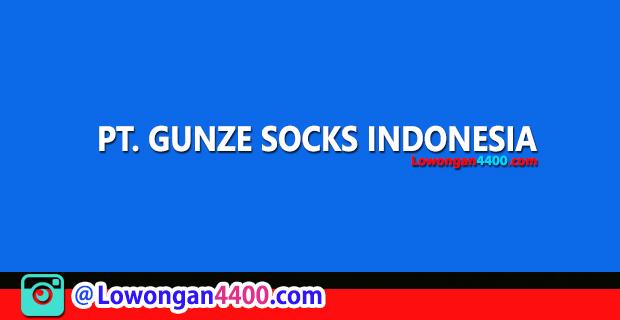 Lowongan Kerja PT. Gunze Socks Indonesia Cikarang Bekasi