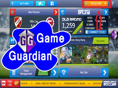 Cara Hack Coin Dream League Soccer 2017 || Menggunakan Aplikasi Game Guardian #Root