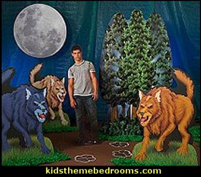 Wolf Standees  twilight bedroom decorating ideas - twilight bedroom decor - twilight bedroom ideas  -  twilight saga home decor - twilight saga themed bedroom ideas - bedding ideas for a twilight bedroom  - twilight jacob bedroom ideas  -  twilight edward bedroom decorating ideas -  twilight bella swan bedroom ideas -  Twilight Edward vampire bedroom -  Twilight wolf bedroom Jacob bedroom ideas - Twilight Saga Movie Posters  - Twilight themed bedroom for teens - movie themed bedroom ideas