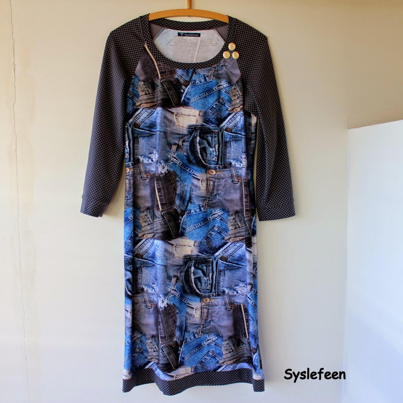 b23b83990181 Jeg har syet mig en ny kjole i