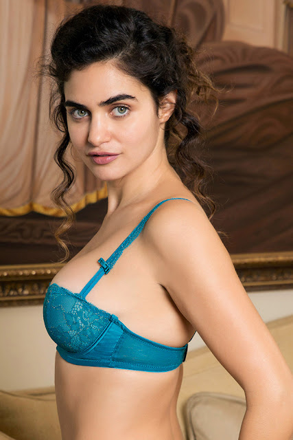 Oopiri fame Gabriella Lingerie hot Photo shoot