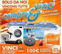 Logo Expert ''Compra & Vinci'': per te migliaia di premi immediati e 1 crociera al giorno!