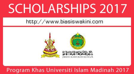 Program Khas Universiti Islam Madinah 2017