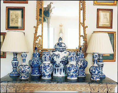 Mention Blue And White You Immediately Conjure Images Of China Or Porcelain Flip Through The Pages Any Home Decorating Magazine