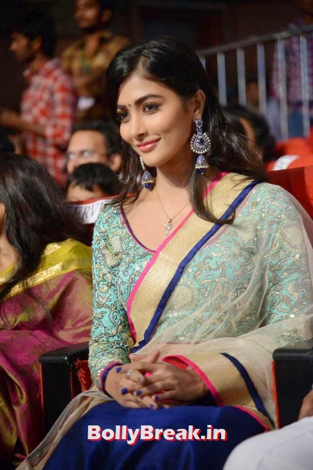 Pooja Hegde Photo Gallery with no Watermarks, hot Pics of Pooja Hegde from Mukunda Movie Audi Launch