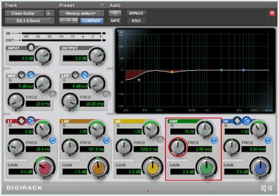 Pro Tools EQ3 4-Band Equalizer