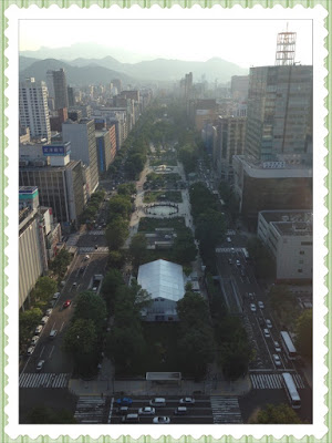Oodori Park from TV Tower