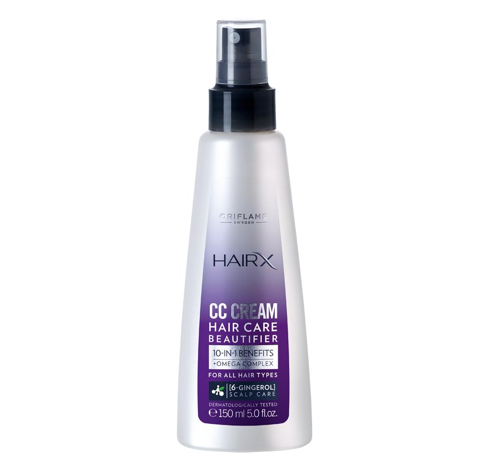 Creme CC em Spray HairX da Oriflame