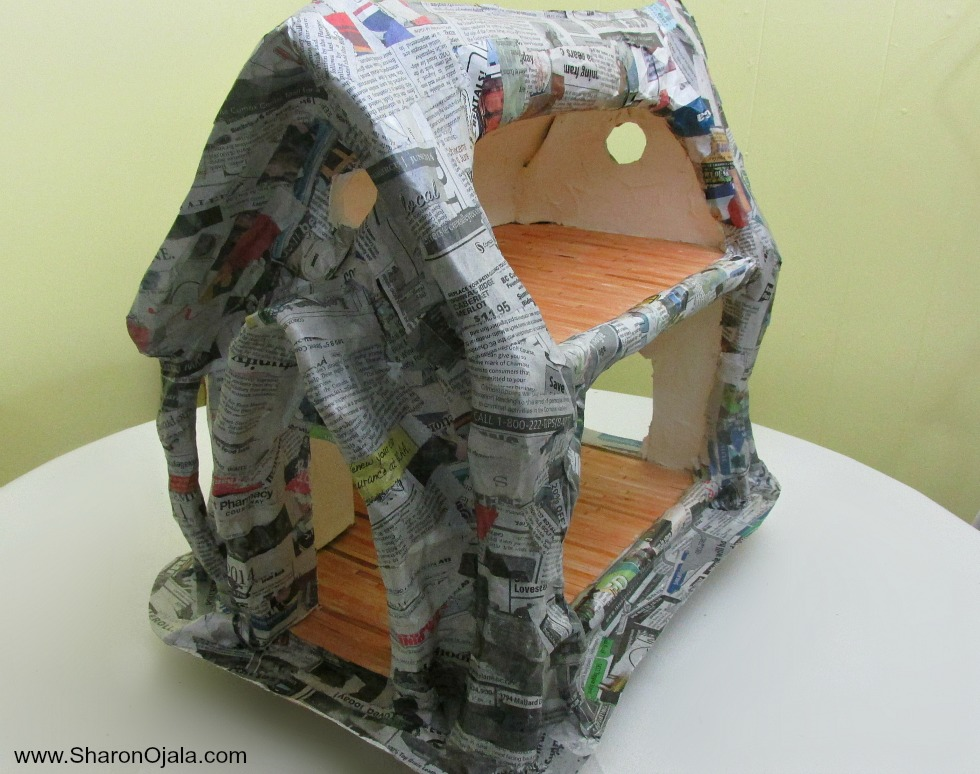 Where The Gnomes Live Tree Stump House Part Two