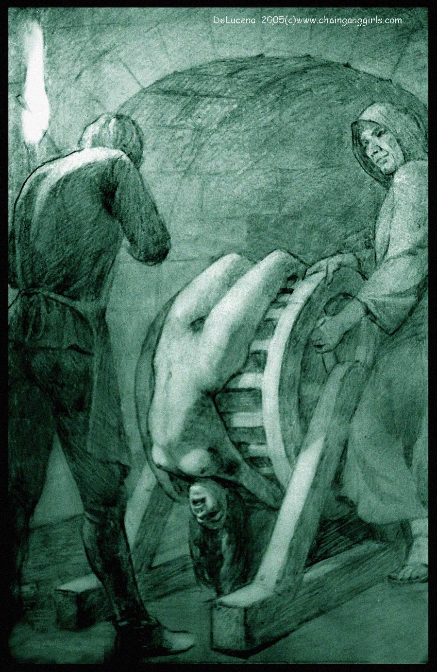 The wheel was one of the most popular and insidious methods of torture and execution practiced.
