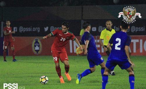 Hasil Timnas Indonesia U-23 vs Thailand U23 1-2