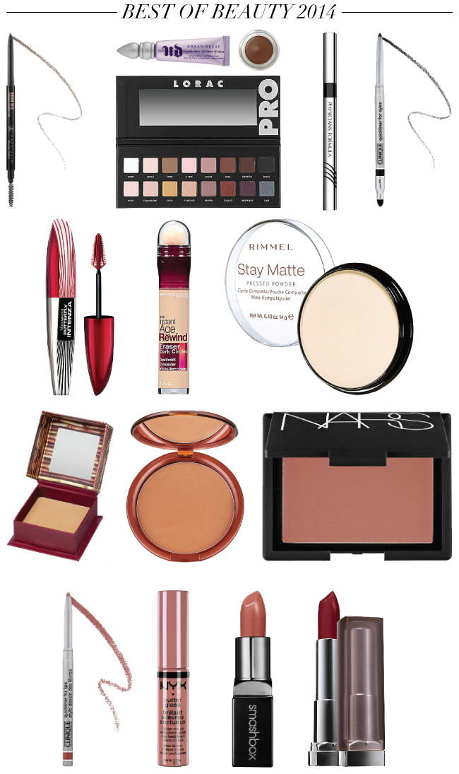 Best of Beauty 2014 {2014 Makeup Favorites} // A Style Caddy
