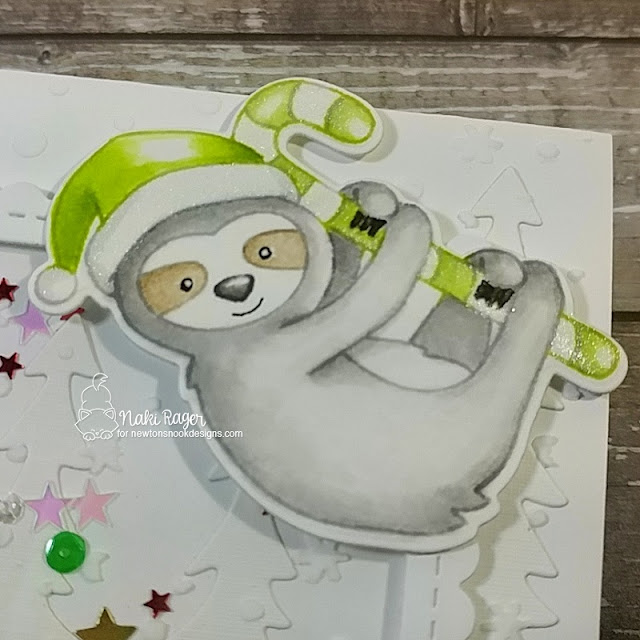 Newton's Nook Designs Slothy Christmas Set - Naki Rager
