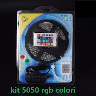 kit strip led 5050 rgb