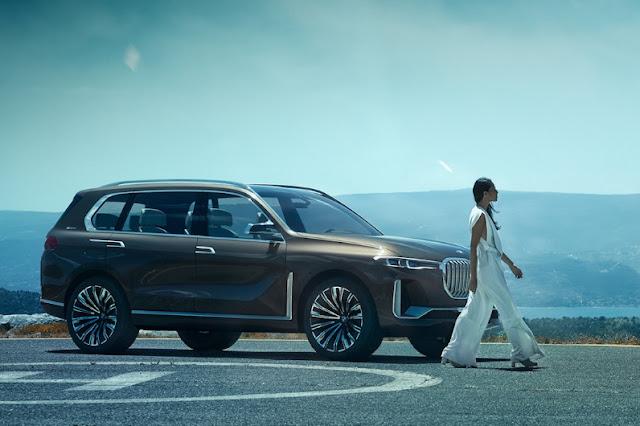 BMW хочет пострить новый внедорожник X8
