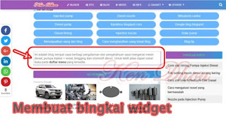 tips membuat border widget blog