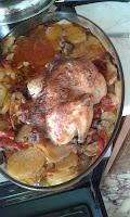 Ολόκληρο κοτόπουλο με μπριάμ στο φούρνο! - by https://syntages-faghtwn.blogspot.gr