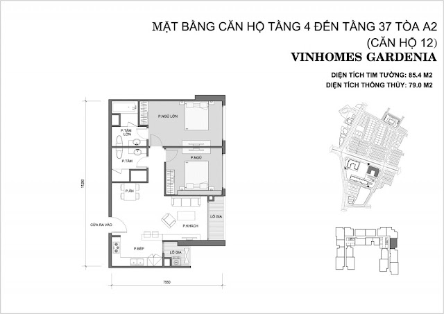 12 - Tòa A2 Vinhomes Gardenia