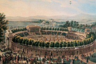 The Arena Civica in Milan as it originally looked