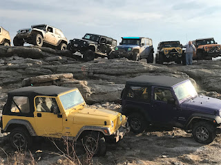 4x4 at Rausch Creek Off Road park with Infidel Jeeps