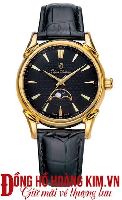 Đồng hồ dây da Olym pianus bán chạy nhất 2016