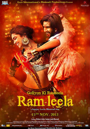 Ram Leela 2013 DVDRip 1Gb Full Hindi Movie Download 720p