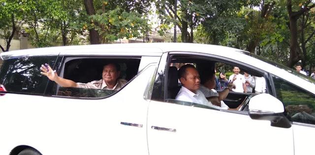 Prabowo Subianto: Alhamdulillah, Optimis Menang