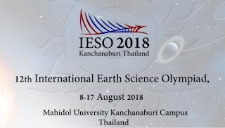 Inilah Pejuang Olimpiade Kebumian yang akan Berlaga di 12th International Earth Science Olympiad Kanchanaburi Thailand