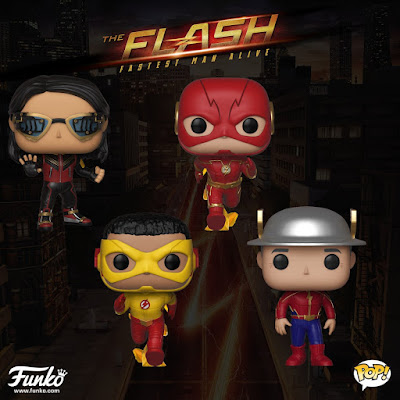 The Flash Television Show Pop! Series 2 Vinyl Figures by Funko