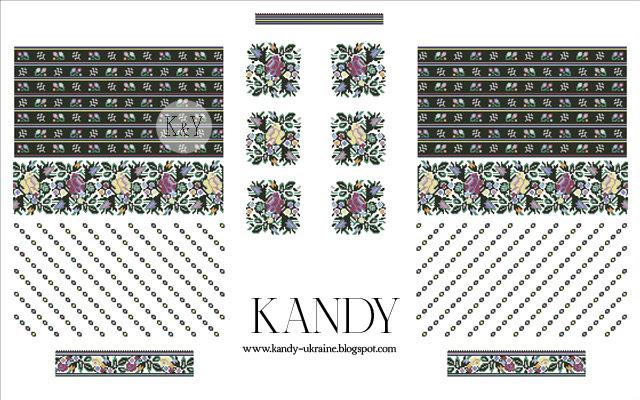 KANDY  Борщівська сорочка + схема 021612 945ea81a0bd16