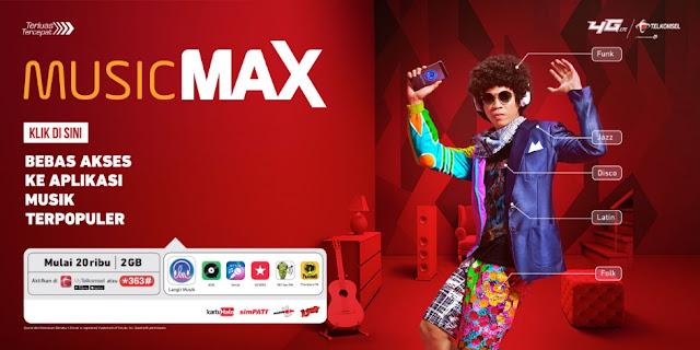 Paket Musicmax Telkomsel